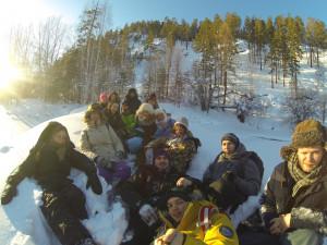Зимняя экспедиция НСО кафедры РПП в Республику Бурятия 2016 года