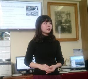 Стажировка Лиссе Хасегавы