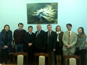 Визит делегации Токийского университета по вопросам сотрудничества